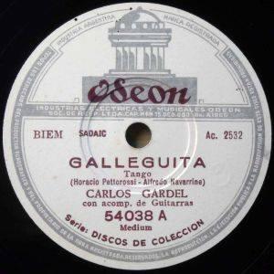 Galleguita - Vynil