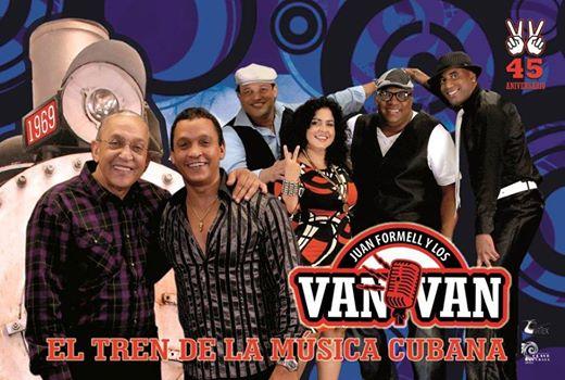 Los Van Van Poster - http://www.vanvandeformell.com