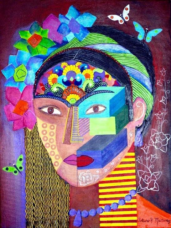 Frida Kahlo By Arturo Martínez (Veracruz, México)