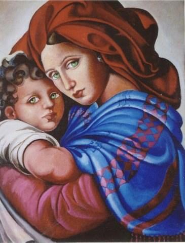 """""""Madonna Afgana"""" by Simone Debbas"""