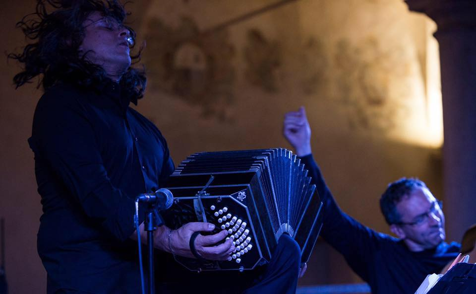 Giampaolo Bandini (guitar) & Cesare Chiacchiaretta (bandoneon) HTTP://WWW.BANDINICHIACCHIARETTA.COM